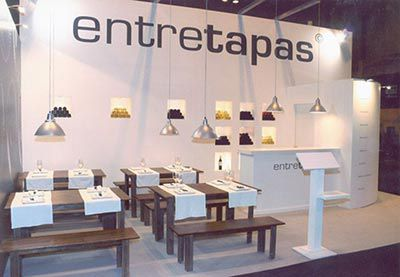 muebles stands madrid